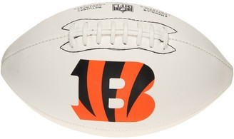 Wilson Cincinnati Bengals Full-Size Autograph Ball - White