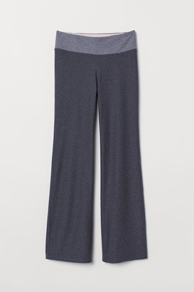 H&M Flared sports tights
