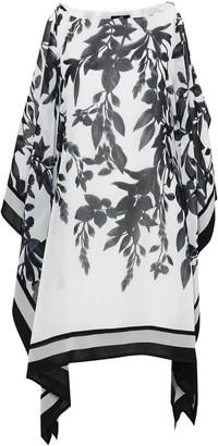Wallis Monochrome Floral Print Kaftan Dress