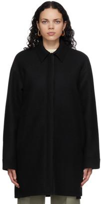 Jil Sander Black Wool Shirt Jacket