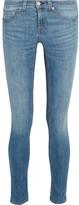 Rag & Bone Mid-rise Skinny Jeans - Mid denim