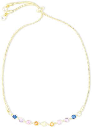Noir 14-karat Gold-plated Stone Bracelet