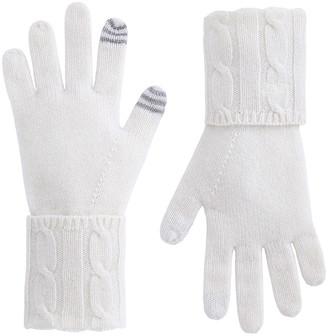Vineyard Vines Cashmere Coral Lane Knit Texting Gloves