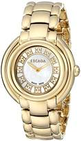 Escada Women's IWW-E2435032 Gold Swiss Quartz Watch