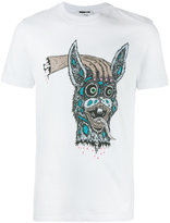 McQ by Alexander McQueen Bring Me The Head of Bunny T-shirt - men - Cotton - XL