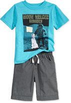 Nannette 2-Pc. T-Shirt & Shorts Set, Toddler & Little Boys (2T-7)
