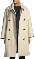 Isabel Marant Flicka Double-Breasted Wool Coat