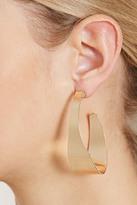 Forever 21 Curved Hoop Earrings