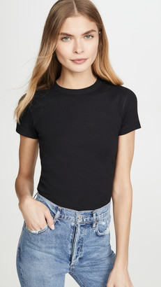 Three Dots Essential Heritage Crew Tee