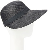 Dnmc DNMC Women's Sunhats Black - Black Facesaver UPF 50+ Straw Hat
