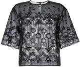Giamba embroidered T-shirt - women - Cotton - 38