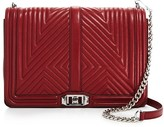 Rebecca Minkoff Love Geo Quilted Jumbo Crossbody