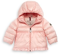 Moncler Girls' Odile Hooded Down Jacket - Baby
