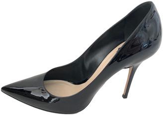 Christian Dior D-Stiletto Black Patent leather Heels