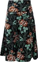 Victoria Beckham Asymmetrical Belted Skirt
