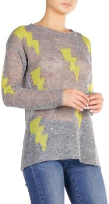Elan International Lightning Bolt Knit Sweater