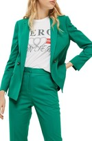 Topshop Women's Double Breasted Suit Jacket