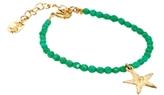 People Tree Star Friendship Bracelet - Green