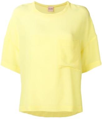 Nude oversized T-shirt