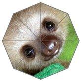 Custom Umbrella Sloth Baby Custom Folding Umbrella Personalized Foldable Raining Umbrella