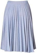 J.W.Anderson Cotton Gingham Midi-Skirt