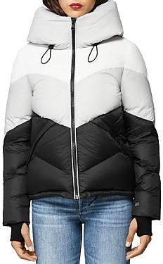 Soia & Kyo Malvina Color-Block Down Puffer Jacket