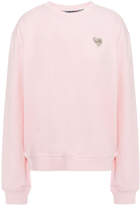 Love Moschino French Cotton-blend Terry Sweatshirt