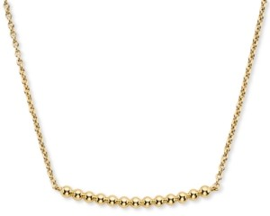 "AVA NADRI Bead Bar Statement Necklace, 16"" + 1"" extender"