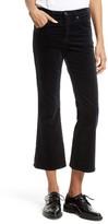 Rag & Bone Women's High Waist Velvet Crop Flare Pants