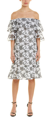 Oscar de la Renta Shift Dress