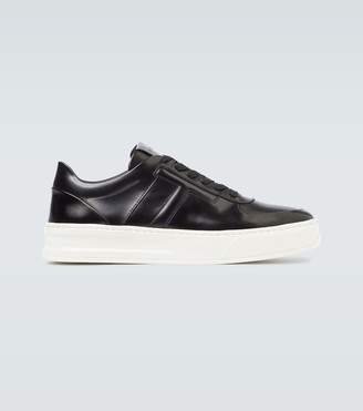 Tod's Spazzolato leather sneakers