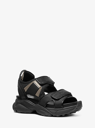 Michael Kors Harvey Canvas Sport Sandal