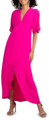 Trina Turk Kimono-Sleeve Dress