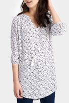 Joules Print Tunic Top