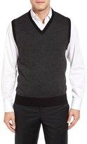 Toscano Geometric Sweater Vest