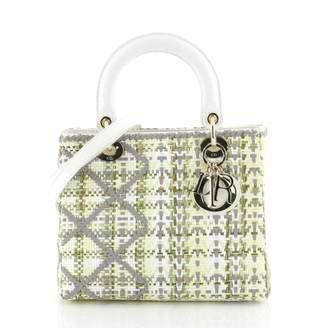 Christian Dior Lady Grey Exotic leathers Handbags