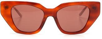 Gucci Embellished Cat Eye Sunglasses