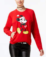 Mighty Fine Juniors' Mickey Mouse Graphic Sweatshirt