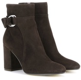 Gianvito Rossi Suede ankle boots