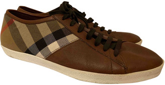 Burberry Brown Leather Lace ups