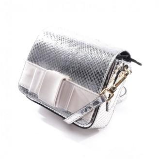 Burberry Metallic Python Clutch bags