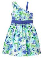 Gymboree 1-Shoulder Floral Dress