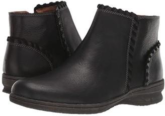 Comfortiva Fallston (Black Wild Steer/Cow Suede) Women's Boots