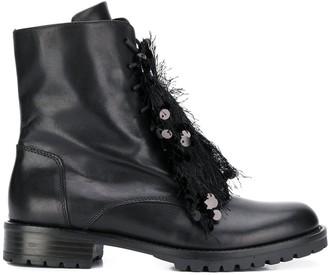Tosca Embellished Ankle Boots