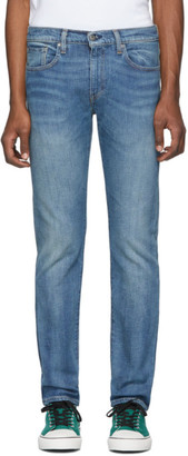 Levi's Levis Made And Crafted Levis Made and Crafted Blue 502 Regular Taper Jeans
