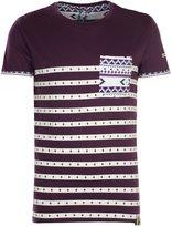 Soul Star Men's Meso Aztec Print Short Sleeve T-Shirt