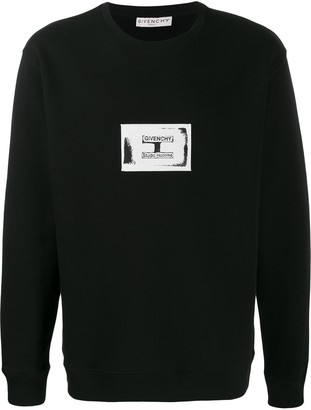 Givenchy Contrasting Patch Detail Sweatshirt