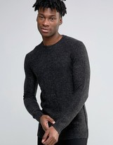 Selected Knitted Mohair Crew Neck