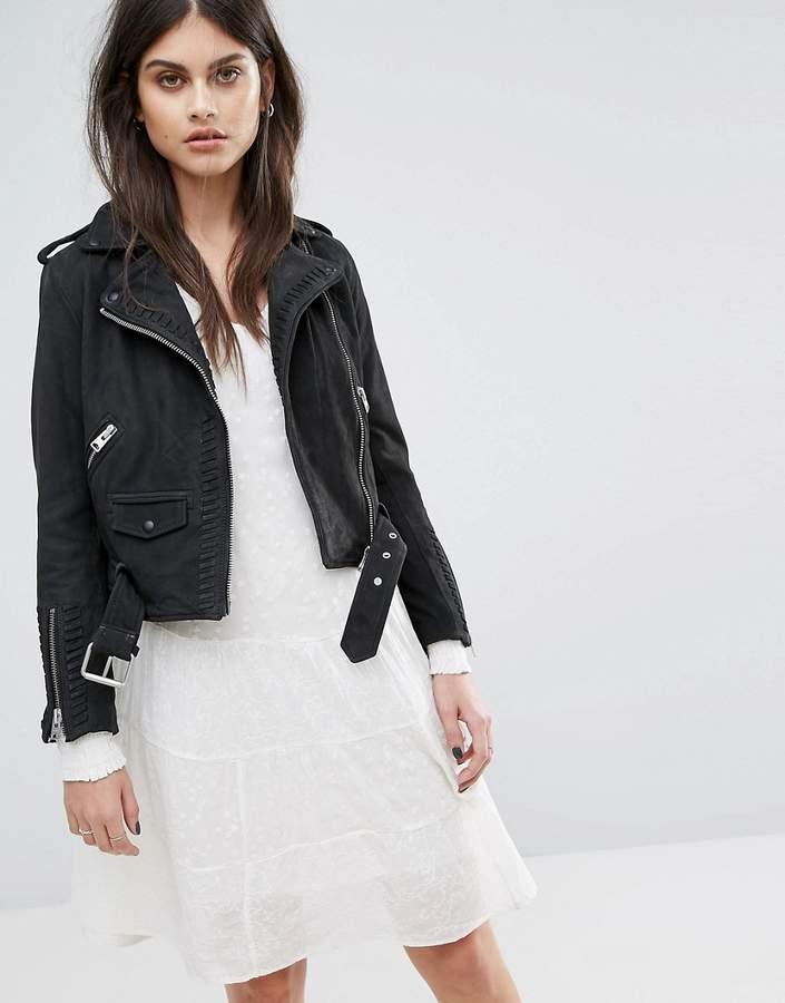 AllSaints Willow Biker Jacket