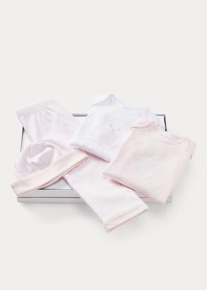 Ralph Lauren Bodysuits, Hat, & Pant Set